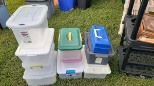 10 Plastic Storage Containers for Sale in Hampton, VA