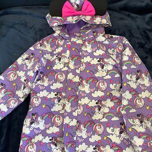 Disney Mini Mouse Unicorn Raincoat Size 5/6 for Sale in Newport Beach, CA