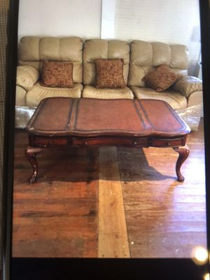3 piece leather sofa for Sale in Aldie, VA