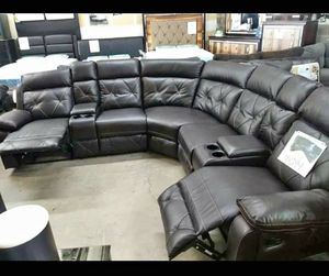 Brand New Black Recliner Sectional Sofa for Sale in Austin, TX