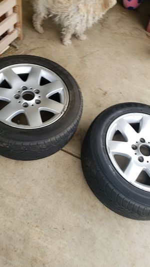 BMW RIM'S AND TIRES for Sale in Palmdale, CA