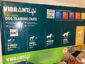 Extra large dog training crate   Practically new for Sale in Manor, TX