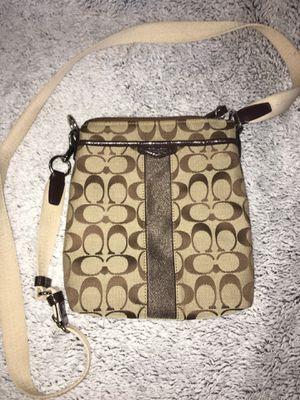 Coach brown crossbody purse for Sale in Artesia, CA