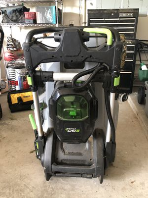 Ego mower with bag for Sale in Watauga, TX