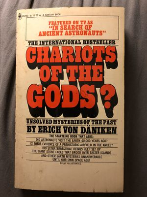 Chariots of the Gods - Erich Von Daniken - Vintage Bantam - 17th printing / 2nd Edition Ancient Aliens for Sale in Tampa, FL