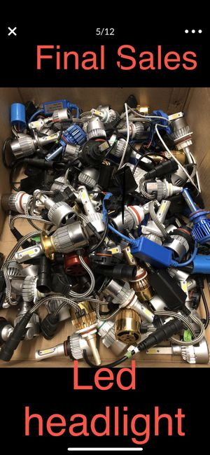 Led car headlight. Final sales all the car size. Works good for Sale in Artesia, CA