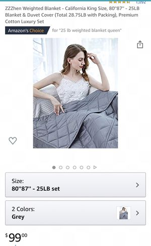 NEW WEIGHT BLANKET NEVER USED for Sale in Vallejo, CA