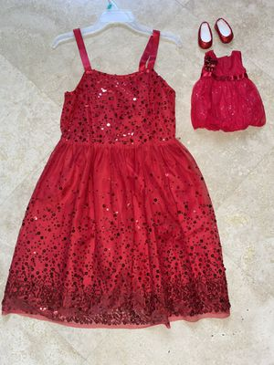 American girl doll matching dresses for Sale in Miami, FL