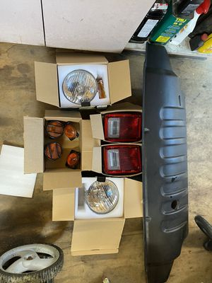 2010 Jeep Wrangler parts lights Grill insert stock for Sale in Pennsauken Township, NJ
