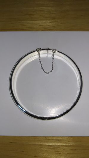 *BEAUTIFUL* New Solid 925 Sterling Silver BANGLE Bracelet $100 OR BEST OFFER for Sale in Phoenix, AZ