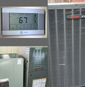 Trane Xr16 r410 a/c & heater system for Sale for sale  Pearland, TX