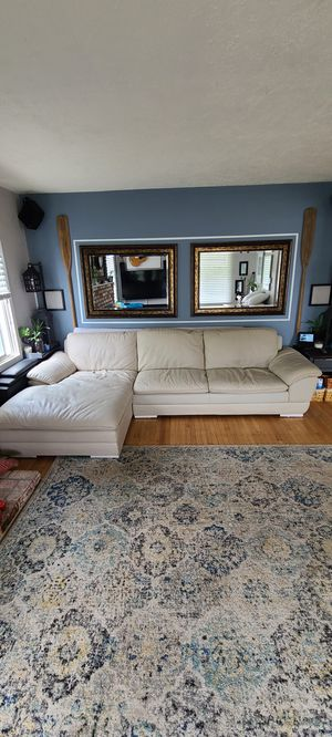 Lether couch for Sale in San Leandro, CA