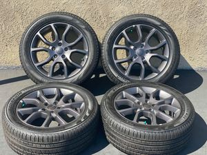 "20"" Jeep Grand Cherokee Anthracite Gray Wheels Rims Rims and Tires Llantas for Sale in Huntington Beach, CA"