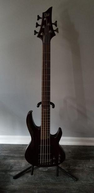 ESP LTD B-335 5 String Bass Guitar for Sale in Washington, DC