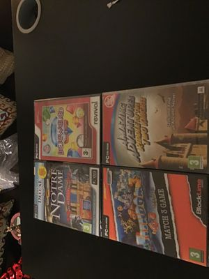 Four sealed pc games. for Sale in Everett, WA