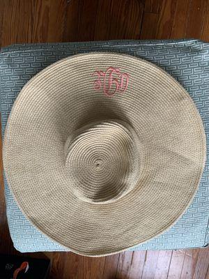 Monogrammed Sun Hat for Sale in Washington, DC