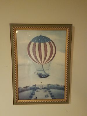 Chelsea House, Gastonia NC hot air balloon painting for Sale in Columbia, MD