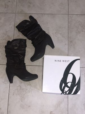 Nine West Chocolate Wedge Below-The-Knee Boots Size 9➡️➡️If Item not marked 'SOLD', it's AVAILABLE!!⬅️⬅️ for Sale in Fresno, CA
