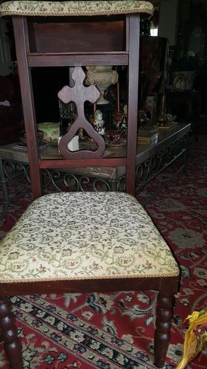 1800's Catholic prayer chair for Sale in Portland, OR