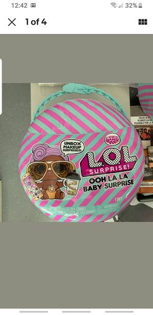L.O.L. Surprise! Ooh La La Baby Surprise Lil D.J. doll * Rare LOL dolls DJ for Sale in Irvine, CA