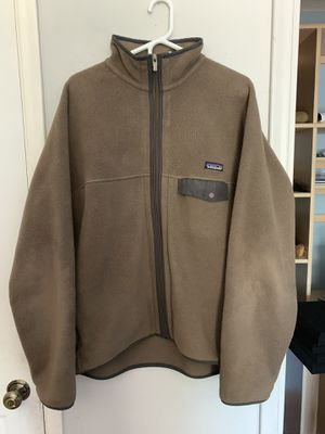 Patagonia Synchilla Zip Up Jacket (Size XL) for Sale in Tucson, AZ