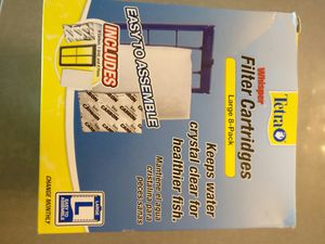 Large aquarium filter cartridges for Sale in Tampa, FL