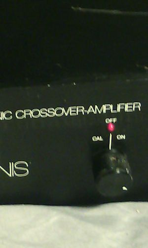 Interphase A1 Elecctronic Crossover amplifier for Sale in Atlanta, GA