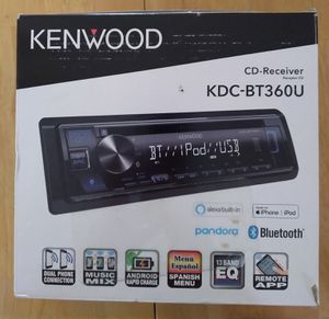Kenwood CD receiver with Bluetooth and Alexa for Sale in Cumming, GA