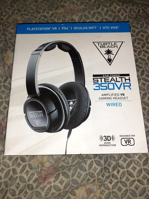 Turtle beach stealth 350vr gaming headset for ps4 for Sale in St. Petersburg, FL