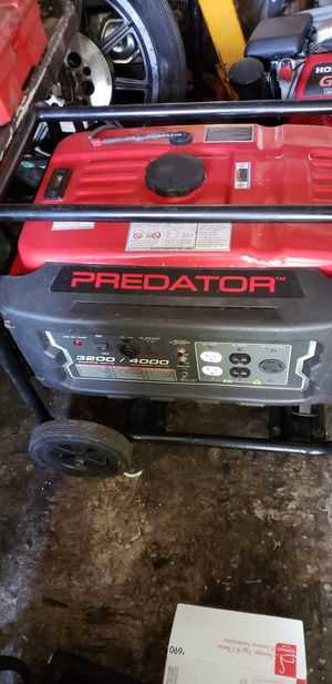 PREDATOR GENERATOR for Sale in Snohomish, WA