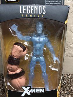 2006 Hasbro Marvel Legends X-men BAF Juggernaut - Iceman bobby drake new 😃 for Sale in Fresno,  CA