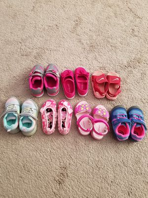 Toddler shoes all size 6 for Sale in Clifton, NJ