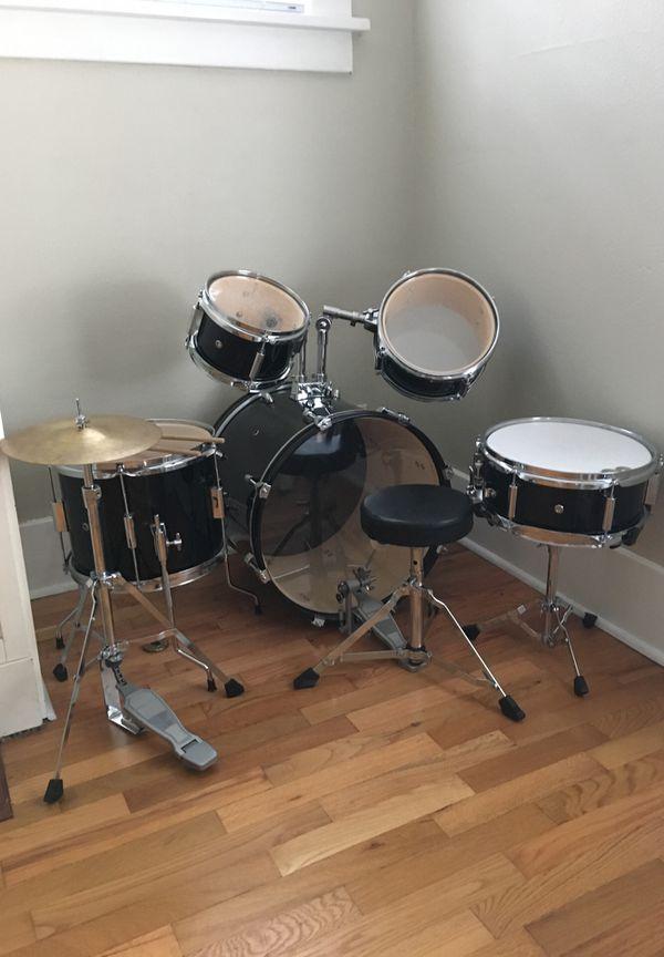 junior drum set for sale in puyallup wa offerup. Black Bedroom Furniture Sets. Home Design Ideas