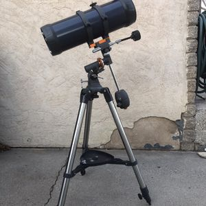 Celestron AstroMaster 114EQ Telescope with Motor Drive for Sale in Albuquerque, NM