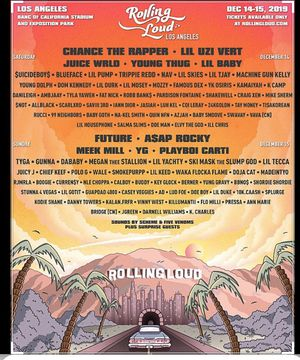 Rolling loud Los Angeles for Sale in Alhambra, CA