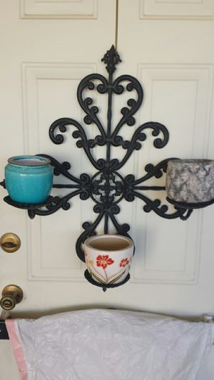 3 cup Wall plant holder for Sale in Sun City, AZ