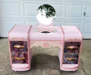 Refinished Waterfall Vanity for Sale in Lutz, FL