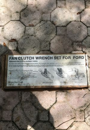 Fan Clutch Wrench Set for Ford for Sale in Fort Lauderdale, FL