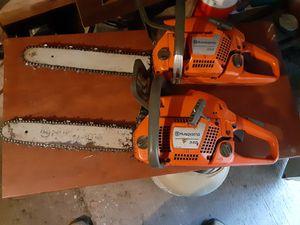 Huskavana 350 & 340 chain saws for Sale in Asheboro, NC