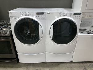 KENMORE ELITE XL CAPACITY WASHER DRYER ELECTRIC SET for Sale in Vancouver, WA