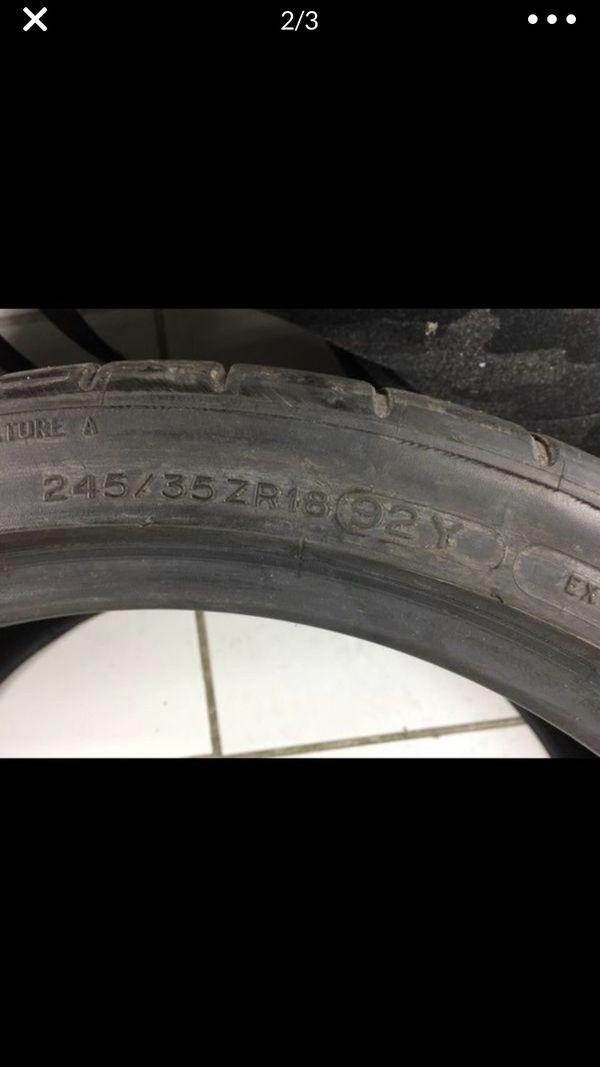 245/35ZR18 MichelinPILOT SUPER SPORT