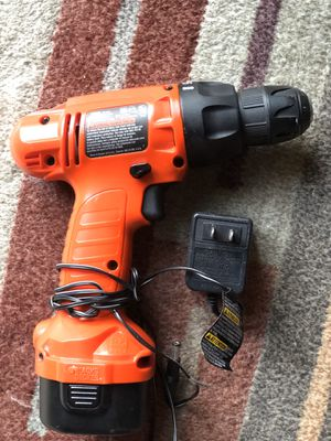 Rechargeable black & decker drill for Sale in Redondo Beach, CA