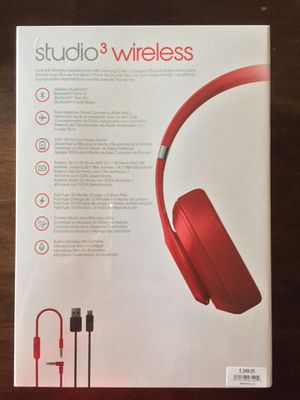 Beats by Dre studio 3 wireless for Sale in St. Clair Shores, MI