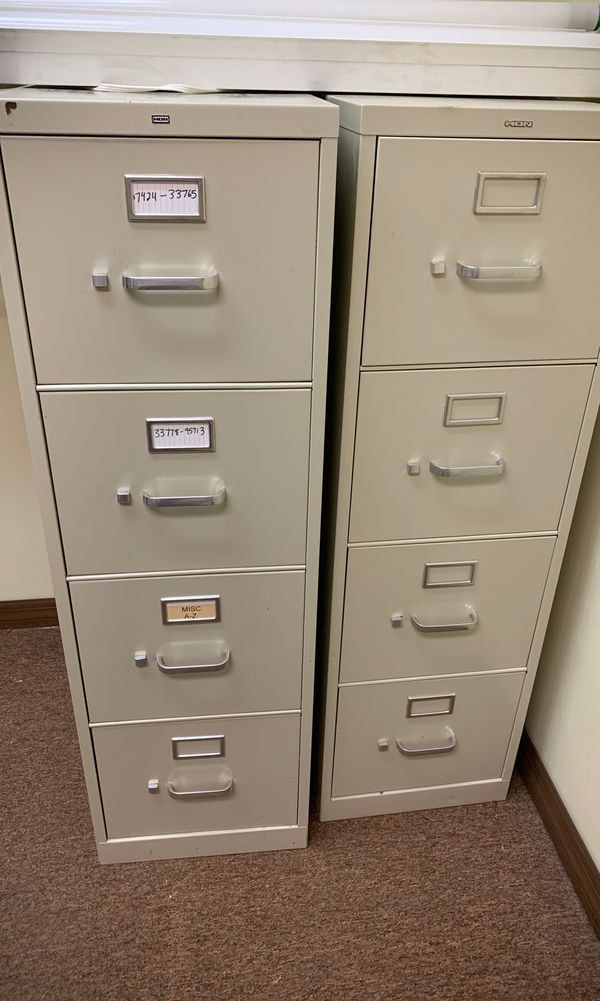 what to do with old file cabinets