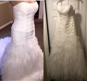 Wedding dress size 8 for Sale in Murfreesboro, TN