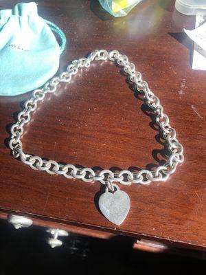 Tiffany & Co. Silver necklace for Sale in Spokane, WA