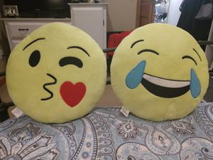 Emoji pillows! for Sale in Cadillac, MI