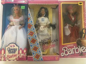 Three Special Collectible Barbies new for Sale in Irvine, CA
