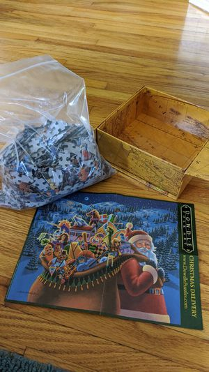 1000 pieces Christmas Puzzle for Sale in Lincoln, NE