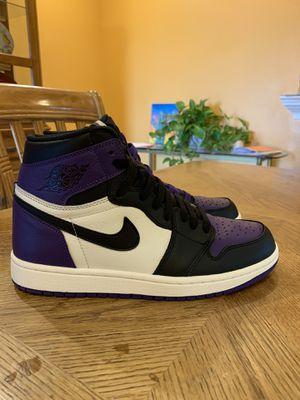 Jordan 1 Court Purple 1.0 for Sale in Fountain Valley, CA